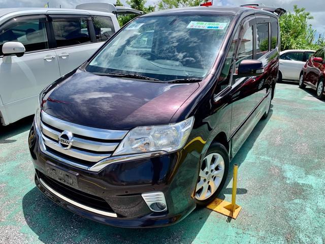 沖縄の中古車 日産 セレナ 車両価格 79万円 リ済込 2012(平成24)年 10.9万km ワインM