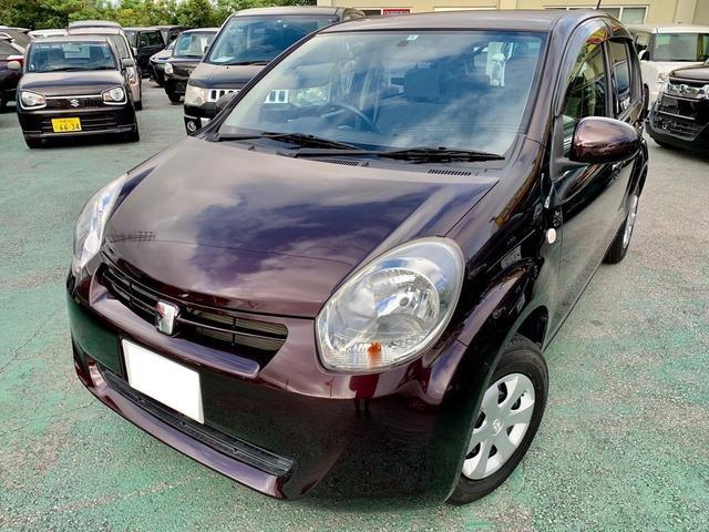 トヨタ パッソ X クツロギ 無事故車 Bluetoothオーディオ・ナビ・TV ベンチシート スマートキー プライバシーガラス 電動格納ミラー ライトレベライザー
