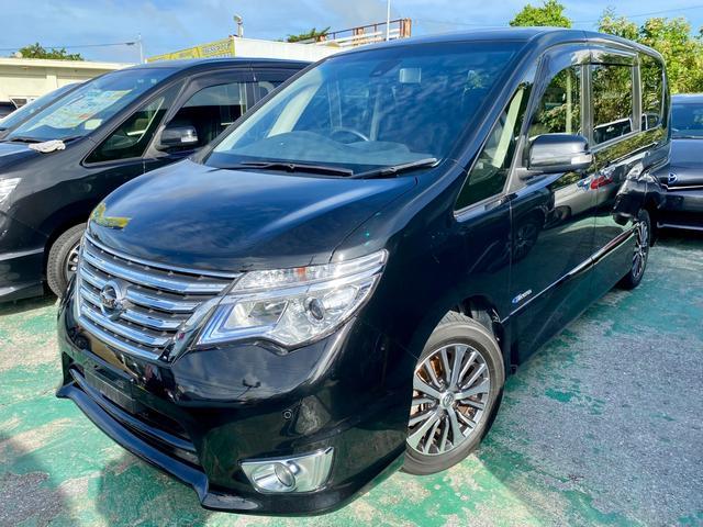 沖縄の中古車 日産 セレナ 車両価格 139万円 リ済込 2016(平成28)年 8.4万km DブラックM