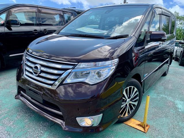 沖縄の中古車 日産 セレナ 車両価格 169万円 リ済込 2016(平成28)年 3.5万km DブラウンM