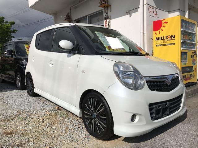 沖縄の中古車 スズキ MRワゴン 車両価格 13万円 リ済別 2009(平成21)年 13.3万km パールホワイト