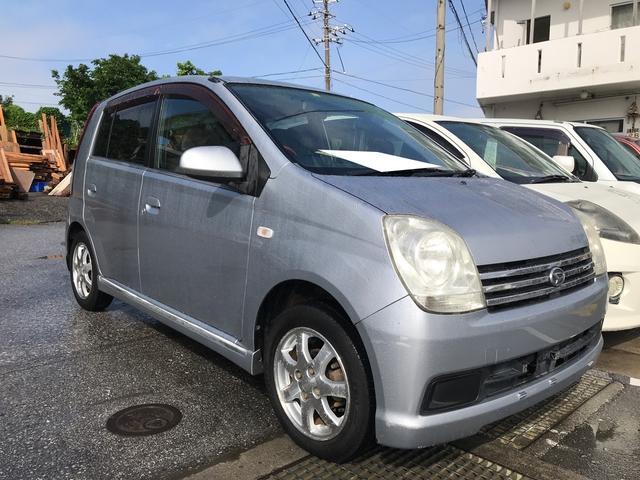沖縄県の中古車ならミラアヴィ X 軽自動車 ブライトシルバーメタリック AT AC