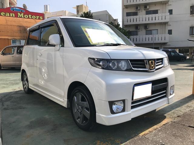 沖縄県の中古車ならゼストスパーク ナビ TV