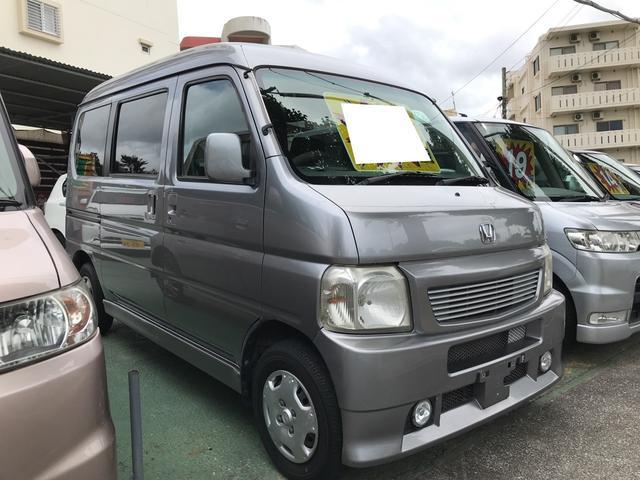 沖縄県の中古車ならバモスホビオ
