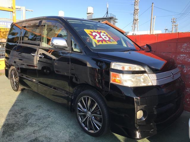 沖縄市 BESTオートサービス トヨタ ヴォクシー  ブラック 14.2万km 2006(平成18)年