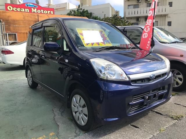 沖縄の中古車 スバル ステラ 車両価格 24万円 リ済別 2009(平成21)年 7.3万km 紺M