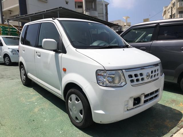 沖縄の中古車 日産 オッティ 車両価格 23万円 リ済別 2013(平成25)年 13.6万km ホワイト