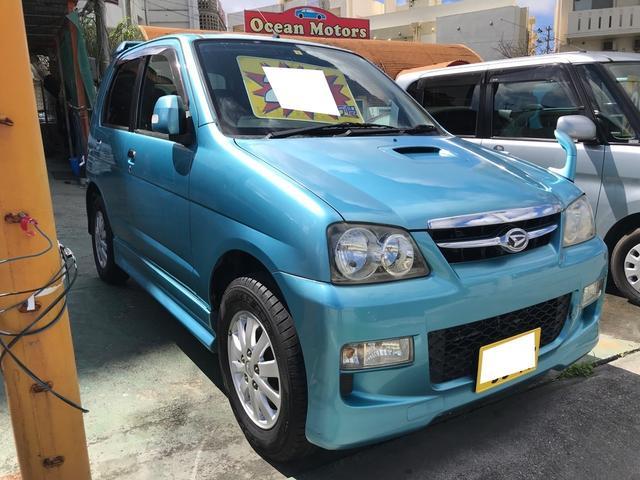 沖縄県の中古車ならテリオスキッド カスタムX ターボ AT 純正アルミ