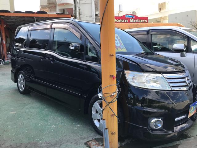 沖縄の中古車 日産 セレナ 車両価格 19万円 リ済別 2007(平成19)年 13.9万km スーパーブラック