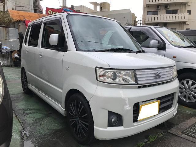 沖縄県の中古車ならワゴンR スティングレーX 社外アルミ