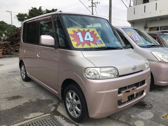 沖縄県沖縄市の中古車ならタント X キーレス CD ベンチシート Wエアバッグ 純正アルミ
