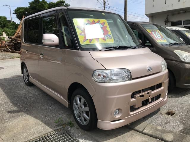 沖縄県の中古車ならタント VS スマートキー キーフリースタート ベンチシート Wエアバック 純正アルミ