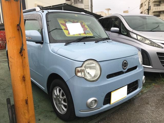 沖縄県名護市の中古車ならミラココア ココアプラスX スマートキー キーフリースタート 社外アルミ 純正オーディオ