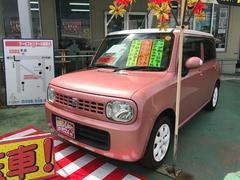 沖縄の中古車 スズキ アルトラパン 車両価格 63万円 リ済別 平成25年 8.8万K ピンクII