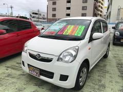 沖縄の中古車 ダイハツ ミラ 車両価格 43万円 リ済別 平成25年 8.8万K ホワイト