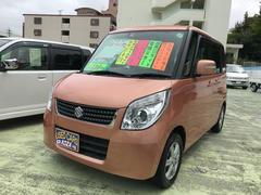 沖縄の中古車 スズキ パレット 車両価格 53万円 リ済別 平成23年 11.0万K シャーベットオレンジメタリック