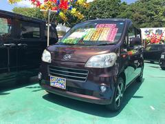 沖縄の中古車 ダイハツ タントエグゼ 車両価格 52万円 リ済別 平成22年 9.0万K ブラウン