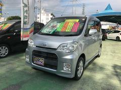 沖縄の中古車 ダイハツ タントエグゼ 車両価格 59万円 リ済別 平成22年 8.1万K シルバー