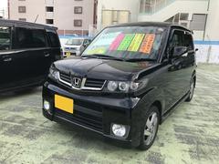 沖縄の中古車 ホンダ ゼストスパーク 車両価格 66万円 リ済別 平成24年 8.6万K ナイトホークブラックパール