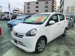 沖縄の中古車 スバル プレオプラス 車両価格 42万円 リ済別 平成25年 9.5万K ホワイト