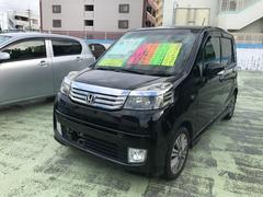 沖縄の中古車 ホンダ ライフ 車両価格 53万円 リ済別 平成23年 8.1万K ナイトホークブラックパール