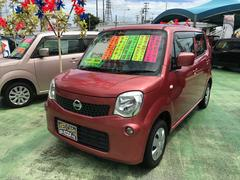 沖縄の中古車 日産 モコ 車両価格 63万円 リ済別 平成25年 7.4万K ピンク