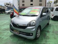 沖縄の中古車 ダイハツ ミライース 車両価格 49万円 リ済別 平成25年 8.1万K シルバー