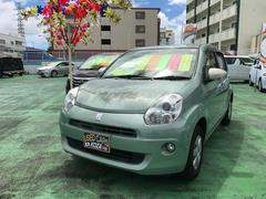 沖縄の中古車 トヨタ パッソ 車両価格 59万円 リ済別 平成25年 7.1万K ウグイスメタリック
