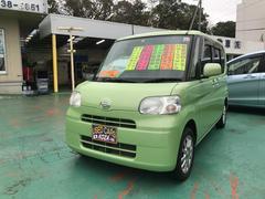 沖縄の中古車 ダイハツ タント 車両価格 63万円 リ済別 平成24年 7.6万K グリーン