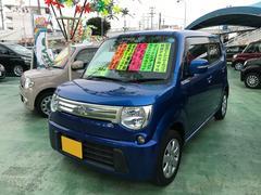 沖縄の中古車 スズキ MRワゴン 車両価格 69万円 リ済別 平成24年 7.6万K ブルー