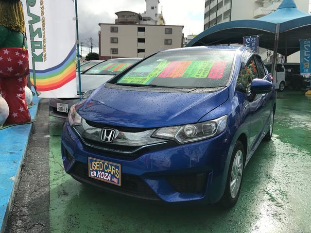 沖縄県の中古車ならフィットハイブリッド Lパッケージ 純正ナビTV