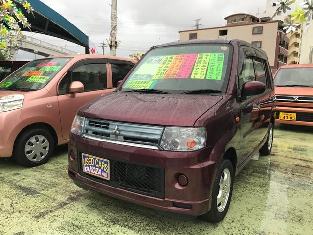 沖縄の中古車 三菱 トッポ 車両価格 43万円 リ済別 平成23年 9.6万km ワイン