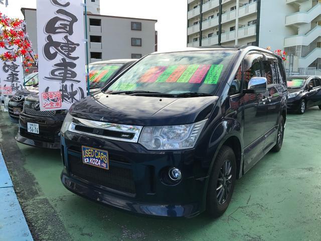 沖縄県の中古車ならデリカD:5 ローデスト G パワーパッケージ 純正ナビ