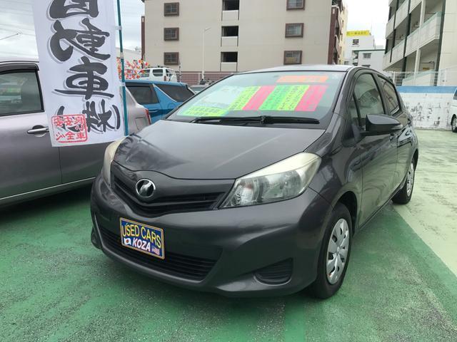 沖縄の中古車 トヨタ ヴィッツ 車両価格 43万円 リ済別 平成23年 8.1万km グレー