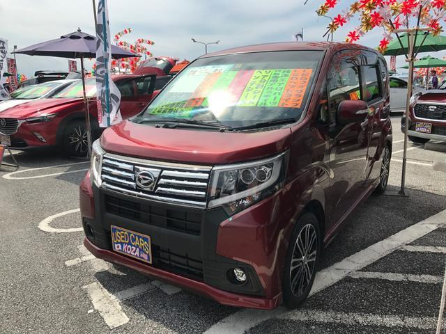 沖縄県の中古車ならムーヴ カスタム RS アイドリングストップ