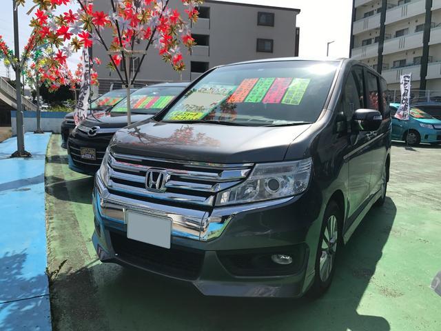 沖縄県の中古車ならステップワゴンスパーダ Z 社外ナビTV