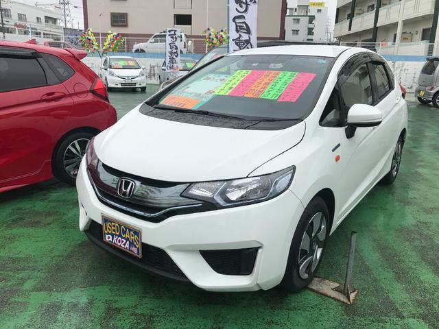 沖縄県の中古車ならフィットハイブリッド Fパッケージ 社外ワンセグナビ