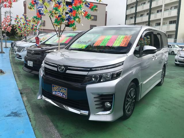 沖縄県の中古車ならヴォクシー ZS 純正ナビTV