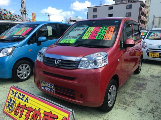 沖縄の中古車 ホンダ ライフ 車両価格 53万円 リ済別 2012(平成24)年 5.3万km ベリーレッドメタリック