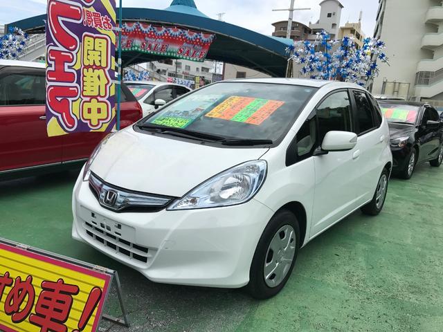 沖縄県の中古車ならフィットハイブリッド ベースグレード ETC