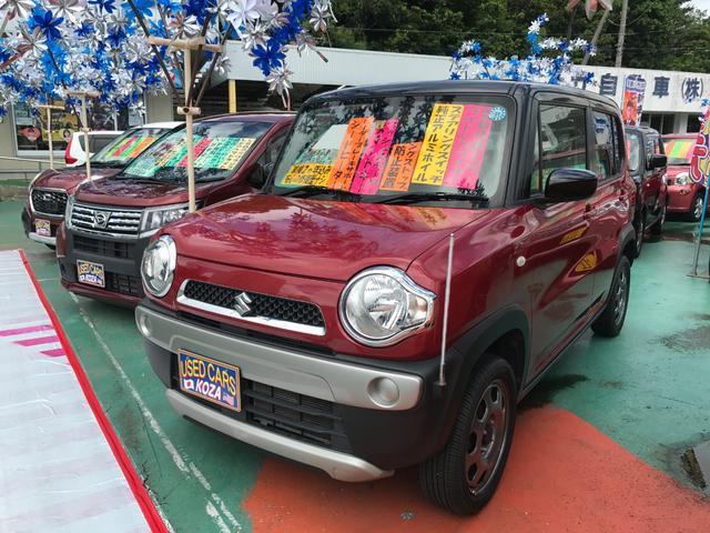 沖縄県沖縄市の中古車ならハスラー G スマートフォン連携ナビ装着車