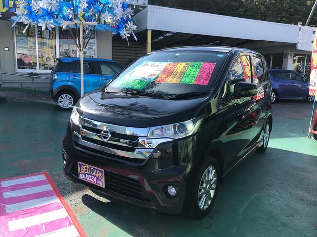 沖縄の中古車 日産 デイズ 車両価格 59万円 リ済別 2013(平成25)年 6.4万km ブラック