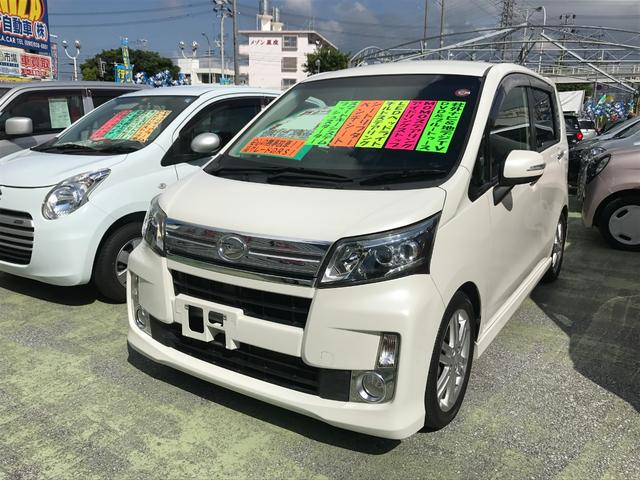 沖縄県の中古車ならムーヴ カスタム RS 社外ナビTV