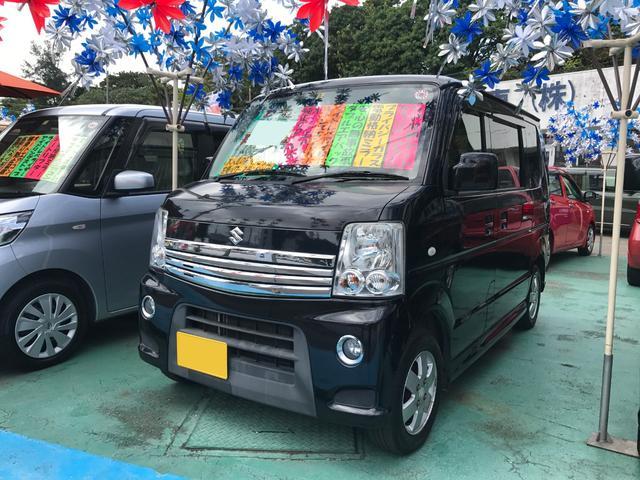 沖縄県の中古車ならエブリイワゴン PZターボ