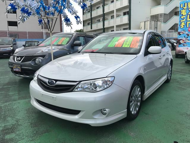 沖縄の中古車 スバル インプレッサ 車両価格 49万円 リ済別 2010(平成22)年 8.8万km パール