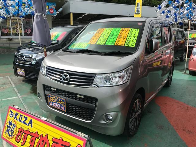 沖縄県の中古車ならフレアカスタムスタイル XT 社外ナビTV ブルートゥース