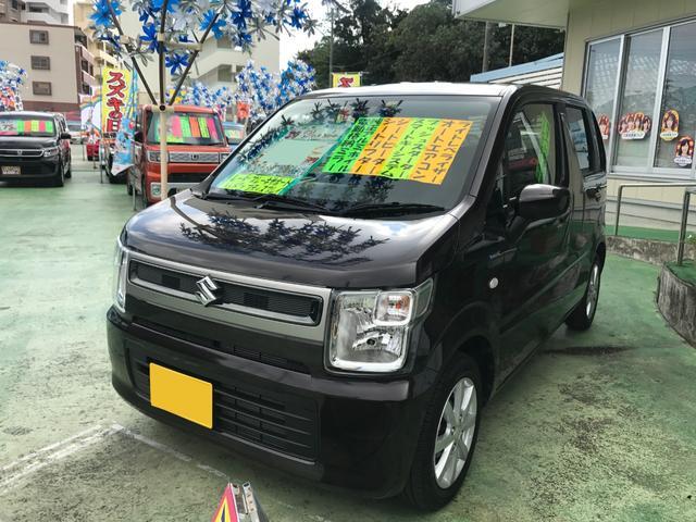 沖縄県沖縄市の中古車ならワゴンR ハイブリッドFX 25thアニバーサリー