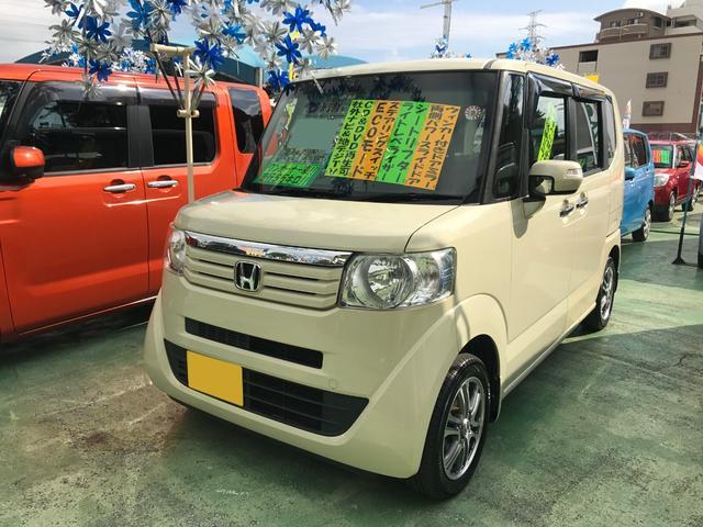 沖縄県の中古車ならN-BOX G SSパッケージ 社外ナビTV