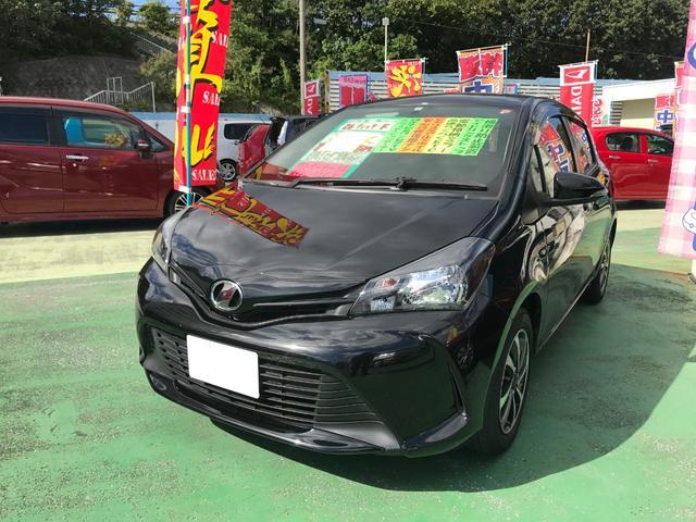 沖縄県の中古車ならヴィッツ F 純正ワンセグナビ アイドリングストップ