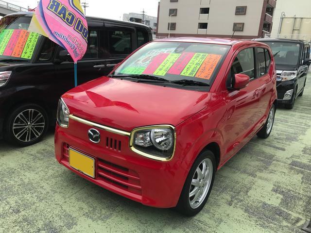 沖縄の中古車 マツダ キャロル 車両価格 64万円 リ済別 2015(平成27)年 7.3万km レッド